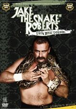 JAKE THE SNAKE ROBERTS: Pick Your Poison DVD *WWE *WWF *Wrestling *2 Discs