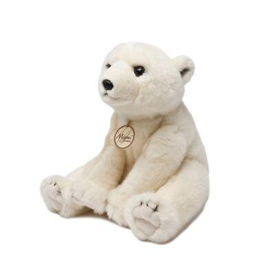 Miyoni Stofftier Eisbär versch. Größen Arktis Kuscheltier Plüschtier Aurora Zoo