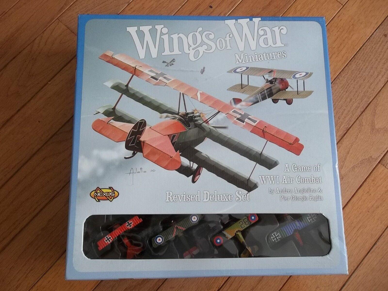 Nexus Wings of War Revised Deluxe Set  Non Perforé  marques de mode