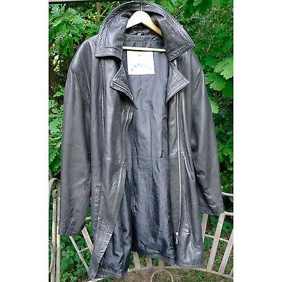 Damen Leder-Jacke XL Lederjacke ENTREE Real Vintage 90er