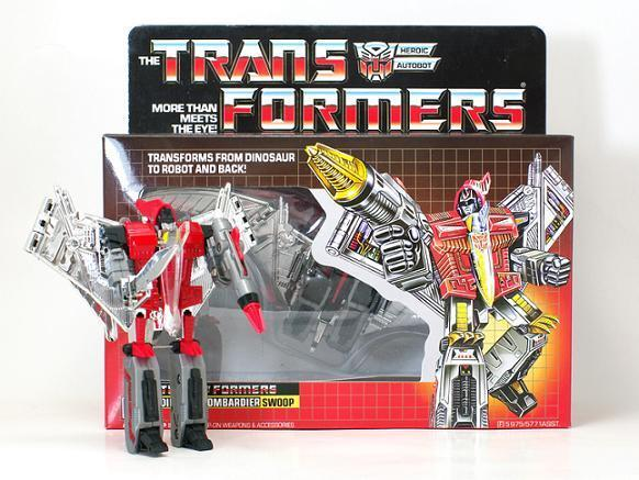 TRANSFORMERS G1 SWOOP AUTOBOT RE-ISSUE COLLECTION SET MISB BRAND NEW KO