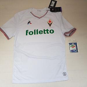 Una Pro Le Sportif Manera Auténtica Camiseta Coq 3304 Shirt Jersey Fiorentina qS18dw6
