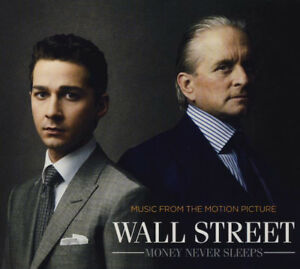 Mural-Street-Money-Jamais-Sleeps-Ost-12-trk-CD-Neuf-Scelle-David-Byrne-Brian