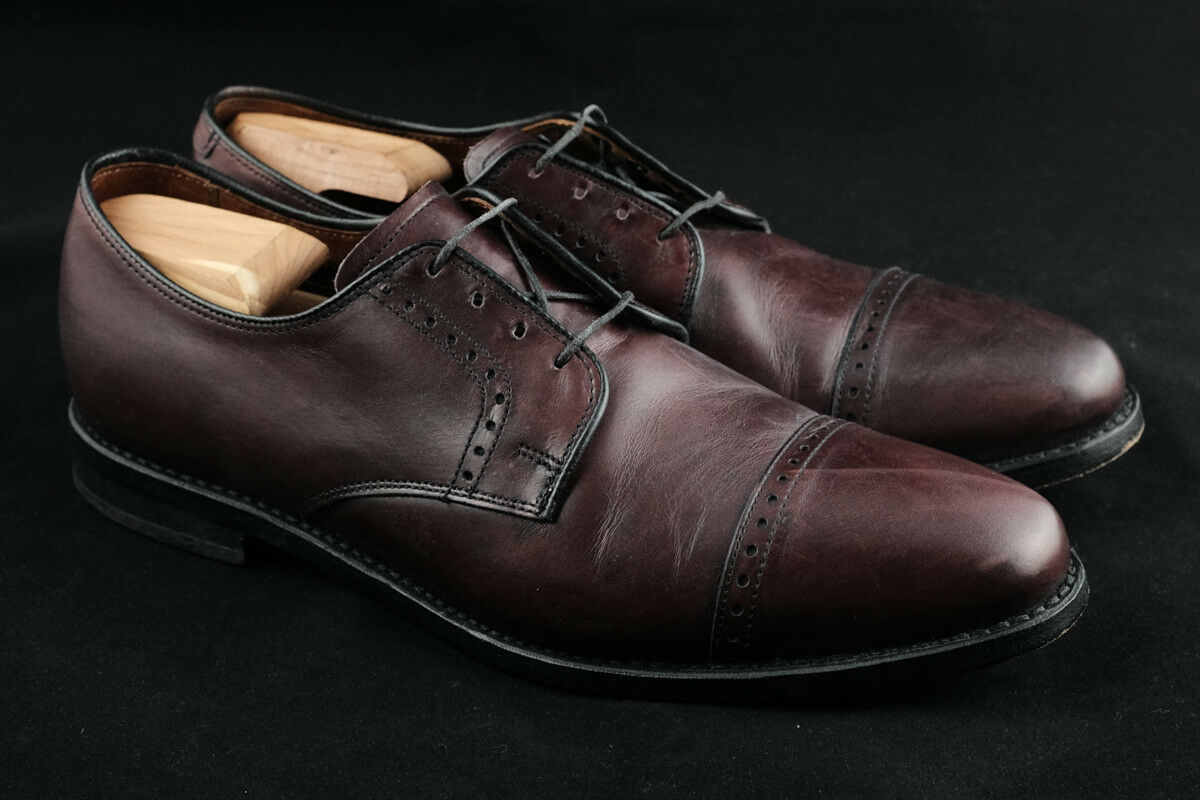 promozioni eccitanti ALLEN EDMONDS EDMONDS EDMONDS BURGUNDY BURNISHED CLIFTON Dimensione 10D  ordinare on-line