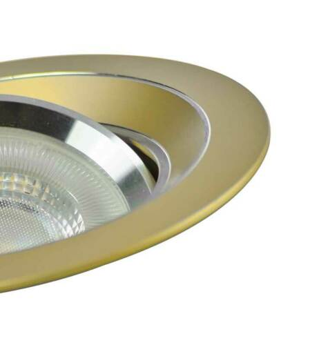 Halogen//LED Einbaurahmen MR-16 gold Einbauspot Einbaustrahler GU10 Gx5,3
