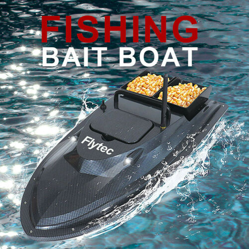 NEW Fish Finder RC Boat 1.5kg Loading 500m Remote Control Fishing Bait Boat