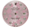 Custom-Pink-Flower-Genuine-Diamond-Dial-To-Fit-Rolex-Datejust-36mm thumbnail 1