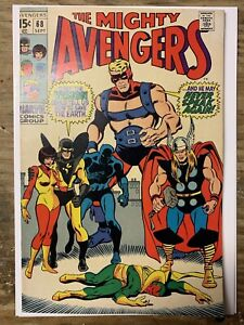 The-Avengers-68-Silver-Age-Marvel-Comic-Book-VF