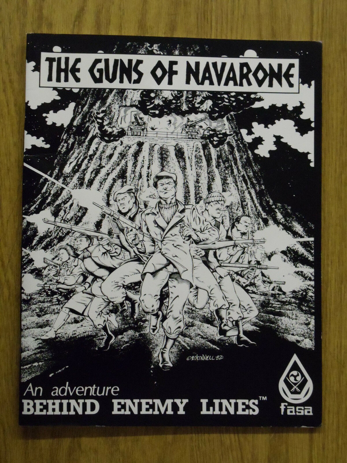 1982 FASA Guns of Navarone RPG Module