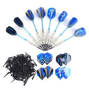 Indoor-Darts-12Pcs-Safety-Darts-Aluminum-Alloy-Darts-120-Plastic-Darts-Heads-amp