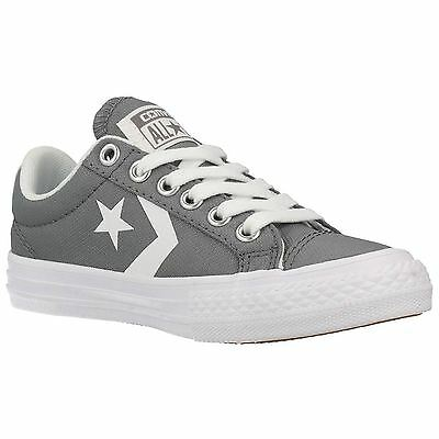 Converse Star Player Ev Buey Mason Blanco Juventud Nuevos Zapatos De Lona Low Top de Superdry