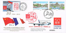 "FFC CHINE ""Airbus A380 Vol Shanghai-Paris - 50 ans Relation France-Chine"" 2014"