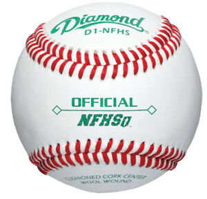 344-Diamond-D1-NFHS-Game-Balls-1-Case-96-baseballs-8-dozen-1-case
