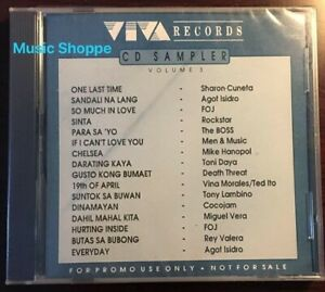 Viva-Records-CD-Sampler-volume-3-OPM-Promotional-CD