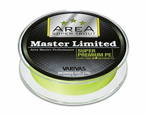 Maestro de área de línea  Varivas Morris PE Limitada súper Premium  0.2 M 75m de Japón  Tienda 2018