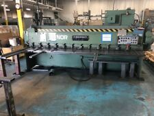10 Ga X 12 Cincinnati Model 1012 Mechanical Shear Stacking Conveyor Fopbg