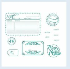 """Lifestyle Crafts-We """"R"""" Letterpress Printing Plate Set HOME MADE Gifts ~03746-0"""