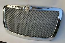 Fits Chrysler 300 Chrome Mesh Grill Bentley Grille Full Replacement Trim Fits Chrysler 300