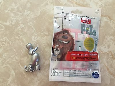 THE SECRET LIFE OF PETS WHITE DOG LEONARD SERIES 2 MINI FIGURE SEALED BLIND BAG