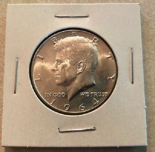 1964 50C Kennedy Half Dollar 90% Silver