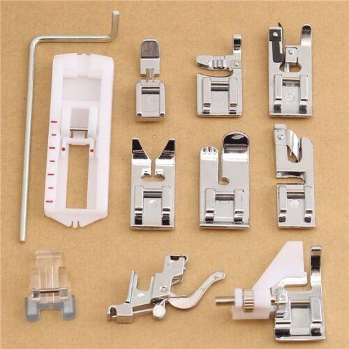 11pcs Presser Foot Set for Husqvarna Viking Sewing Machine NEW