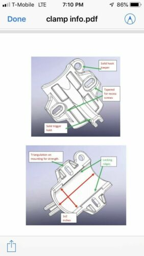 Trigger Clamps Okuma metaloid Bobines M-5 simple M-12 et 2-Vitesse matelot Ver.