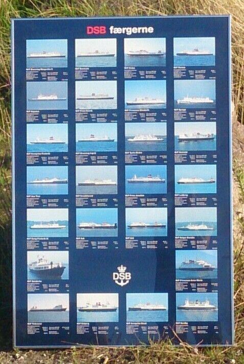 Plakater, DSB færger