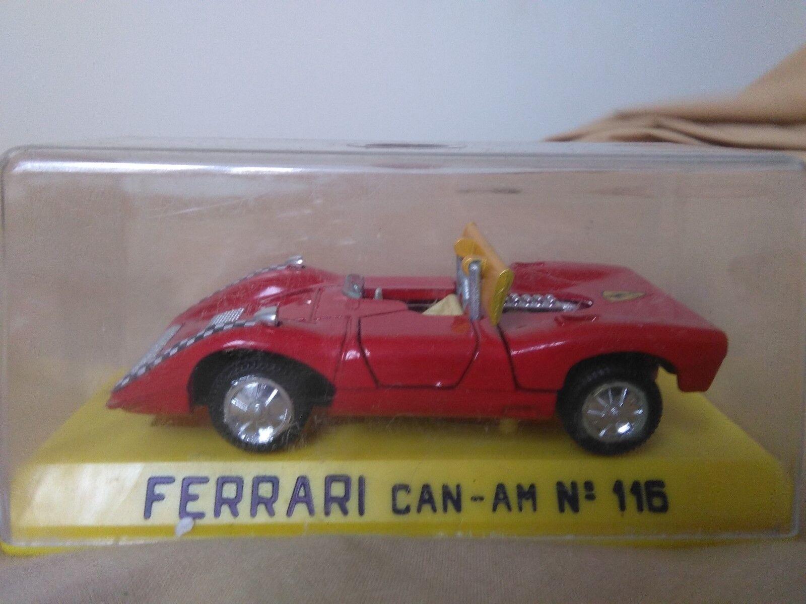 Preciosa miniatura 1 43 Ferrari Can-Am Joal 116 Serie 100 Made in Spain.