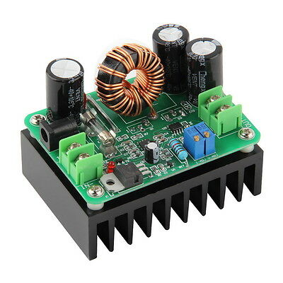 DC-DC 10-60V to 12-80V Boost Converter Step-up Module Car Power Supply 600W AWP