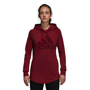 Details about Adidas Women Hoodie Running Sport ID Training Red Work Out Fashion DN8768 New