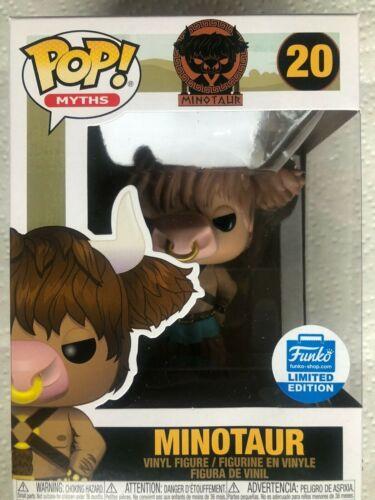 EN STOCK Free ship! Funko POP mythes Funko Shop Limited Edition Minotaure!!
