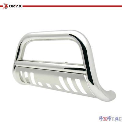 ORYX B1001HS Chrome Stainless Steel Bull Bar Fits Chevy//GMC Silverado//Sierra Heavy Duty 2001-2006