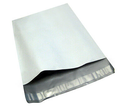 200-6x9-WHITE-POLY-MAILERS-ENVELOPES-BAGS-6-x-9