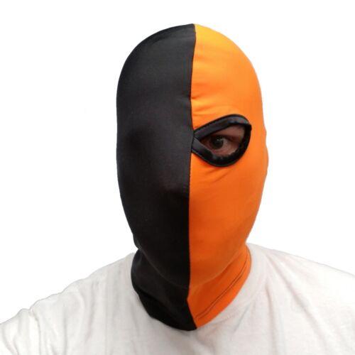 Deathstroke Mask Arrow One Eye One-Eyed Mask Batman Costume Cosplay Terminator
