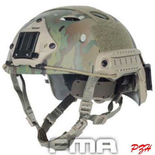 FMA FAST Helmet-PJ TYPE Multicam TB466  M L L XL Tactical Airsoft CS Predective  save up to 80%
