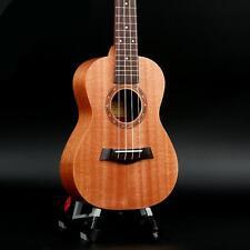 4 String Ukulele Mahogany Wood Ukelele Hawaiian Guitar 24in Musical Instrument