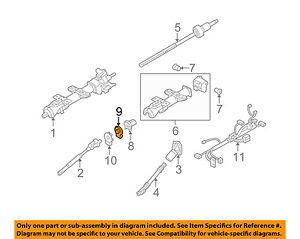 s l300 hummer gm oem 08 09 h2 steering column position sensor 25855607 ebay