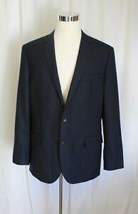J Crew Ludlow Suit Jacket 44R Center Vent in Italian Wool $425 Navy