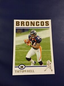 2004-Topps-Collection-Gold-317-TATUM-BELL-ROOKIE-RC-Denver-Broncos-MINT