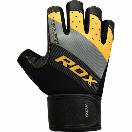 RDX Kids Long Wrist Supper Anti Slip Palm Protection Weight Lifting Gym Gloves