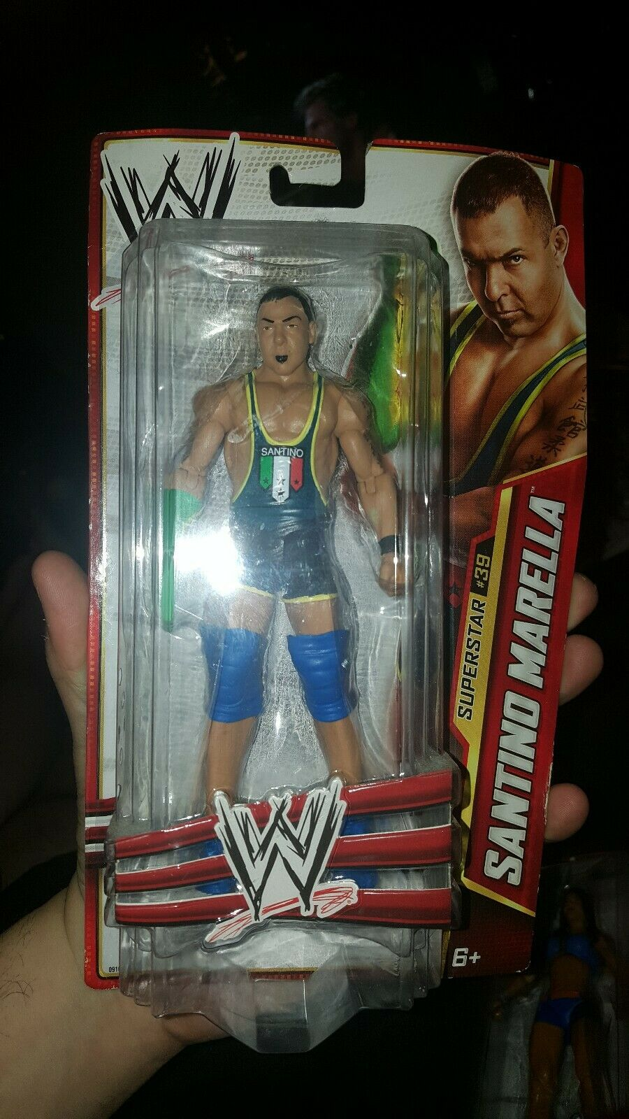 RARE 2013 WWE SuperStar  64 Santino Marella Wrestling  Action Figure  articles de nouveauté