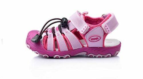 Nova Utopia Toddler Little Girls Summer Sandal Sneakers Fuchsia Pink Size 9
