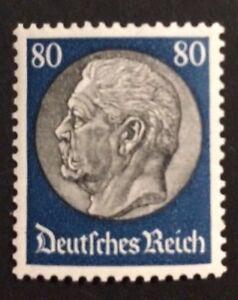 Deutsches-Reich-Hindenburgmedaillon-III-80Pf-Mi-Nr-527-postfrisch