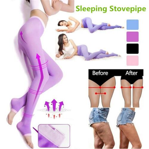 Sleeping Beauty Legs Shaper Legging Socks Women Slimming Leg Hip Up Pants New