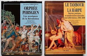 LOT-ORPHEE-PHRYGIEN-amp-LE-TAMBOUR-ET-LA-HARPE-MUSIQUES-DE-LA-REVOLUTION-FRANCAISE