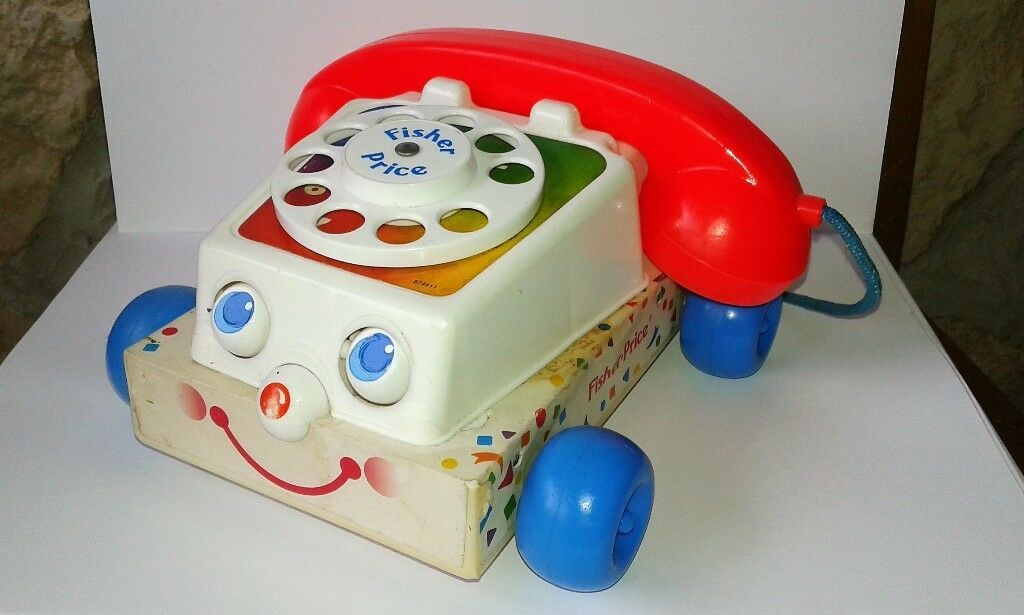 Fisher-Price chatter téléphone 1961 made made made in england Toy Story  tomamos a los clientes como nuestro dios
