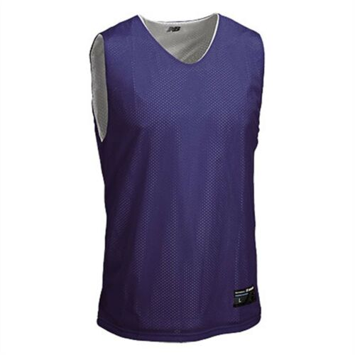 New Balance Men/'s Reversible Top Tanks Sleeveless Basketball T-Shirt NEW Tee