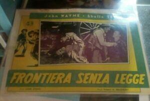 Frontera-sin-Ley-Fotobusta-Pequena-Original-1934-John-Wayne