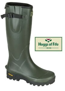 Hoggs-of-Fife-Field-Sport-365-Rubber-Boot-Wellington-Hunting-Shooting-Cotton