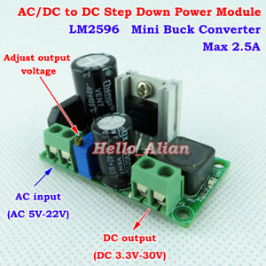 AC-DC-to-DC-Step-Down-Volt-Converter-3-3V-5V-9V-12V-Rectifier-Filter-Buck-Module